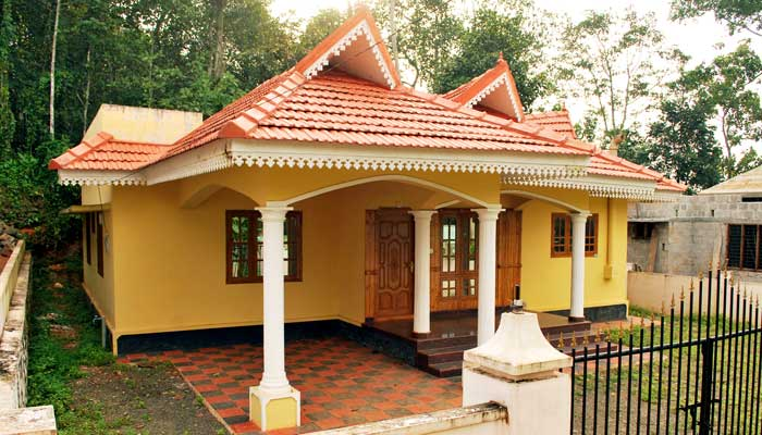 Low cost house in kerala joy studio design gallery for Low cost staircase designs in kerala