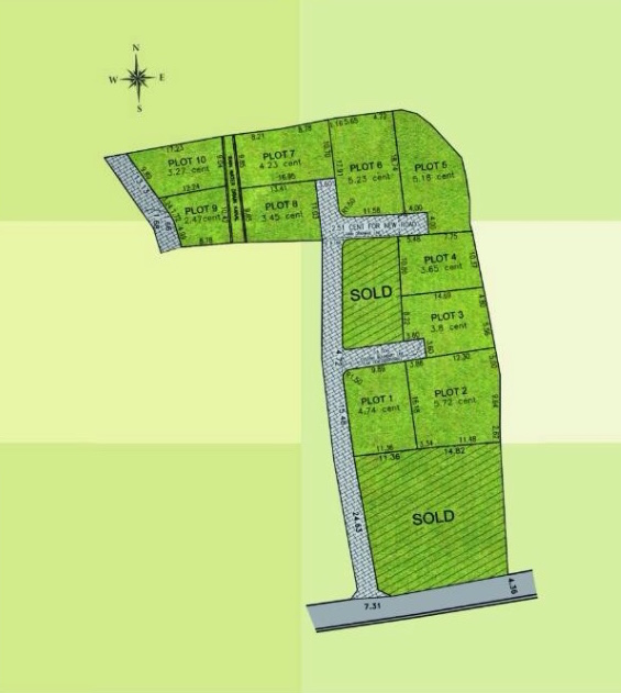Land for sale in Cochin